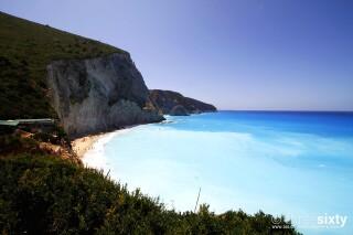 location aurora villa lefkada beach