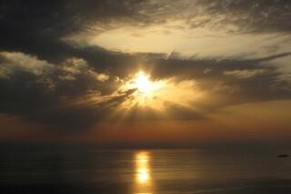 location aurora villa lefkada sunset